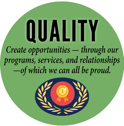 Core Value 4 - Quality